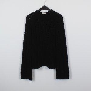 Gabi Lauton Pullover a maglia grossa nero Lana
