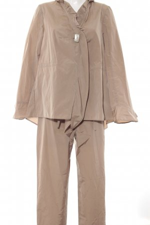 Gabi Lauton Tailleur-pantalon beige style d'affaires