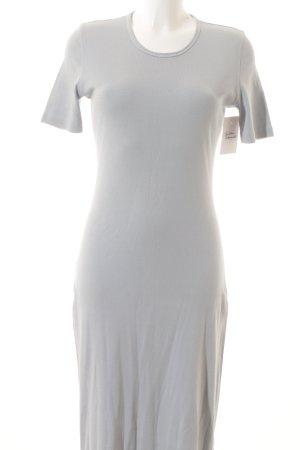 Gabi Lauton Jerseykleid blassblau schlichter Stil