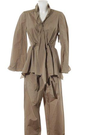 Gabi Lauton Kostüm hellbraun Casual-Look