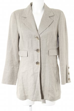 Gabi Lauton Long-Blazer beige-creme Business-Look