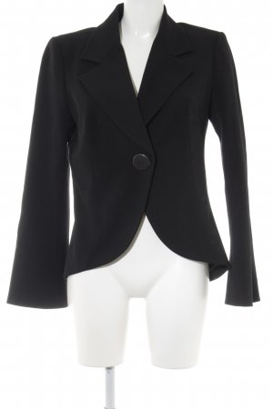Gabi Lauton Long-Blazer schwarz Business-Look