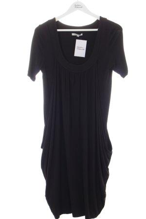 Gabi Lauton Shirtkleid schwarz Lagen-Look