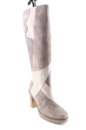 Gabor Absatz Stiefel Colourblocking klassischer Stil