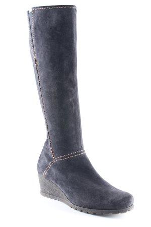 Gabor Absatz Stiefel dunkelblau Urban-Look