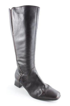 Gabor Absatz Stiefel dunkelbraun Casual-Look