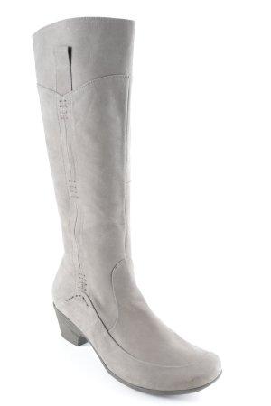 Gabor Absatz Stiefel grau Casual-Look
