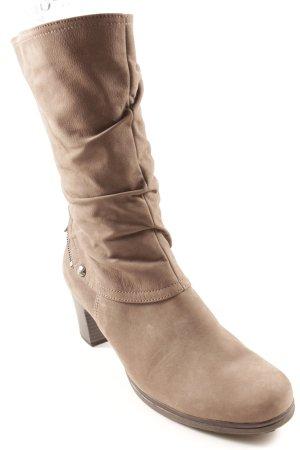 Gabor Absatz Stiefel graubraun Casual-Look