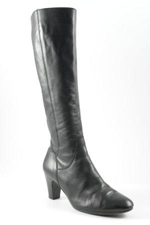 Gabor Absatz Stiefel schwarz klassischer Stil