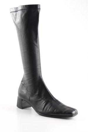 Gabor Absatz Stiefel schwarz Retro-Look