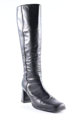 Gabor Absatz Stiefel schwarzbraun Casual-Look
