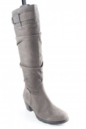 Gabor Absatz Stiefel taupe Casual-Look