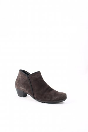 Gabor Ankle Boots dunkelbraun Casual-Look