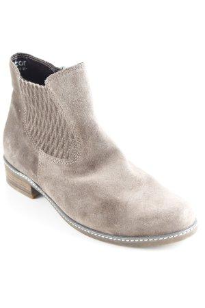Gabor Ankle Boots grüngrau Casual-Look
