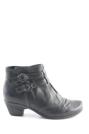 Gabor Low boot noir style décontracté