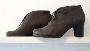 Gabor Bottines à lacets taupe cuir