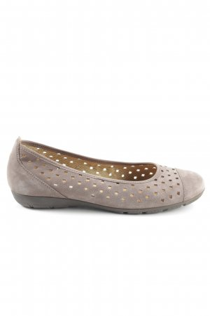 pick up 301ee 3e9f0 Gabor Ballerinas with Toecap light grey business style