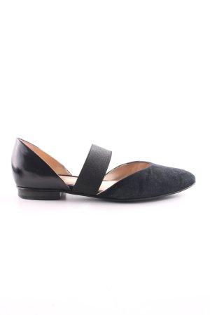 Gabor Ballerinas mit Spitze schwarz Business-Look