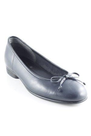 Gabor Ballerinas mit Spitze dunkelblau Business-Look