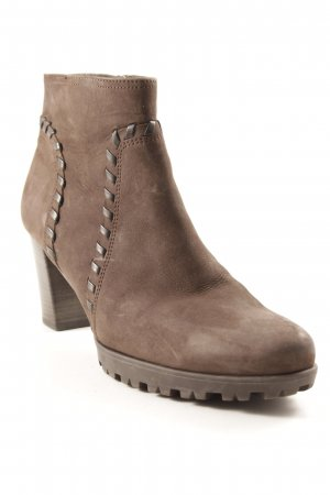 Gabor Booties dunkelbraun Casual-Look
