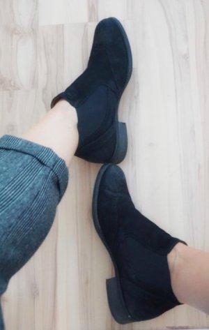Gabor Chelsea Boot noir cuir