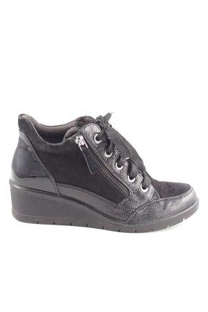 Gabor Comfort Absatz Sneaker schwarz Casual Look