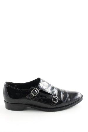 Gabor Comfort Cap Toes zwart zakelijke stijl