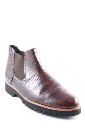 Gabor Comfort Chelsea Boots Animalmuster Boyfriend-Look