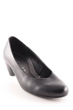 Gabor Comfort High Heels schwarz Business-Look