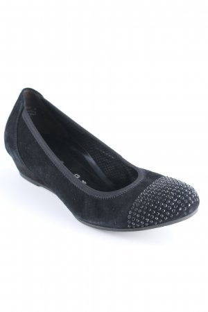 Gabor Comfort Keil-Pumps schwarz Elegant