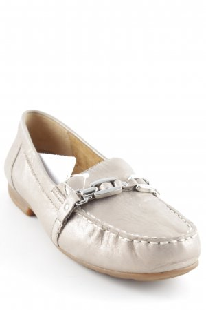 Gabor Comfort Moccasins gold-colored-light brown casual look