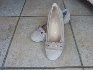 Jana Escarpins Mary Jane beige-beige clair cuir
