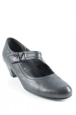 Gabor Comfort Slip-on Shoes black classic style