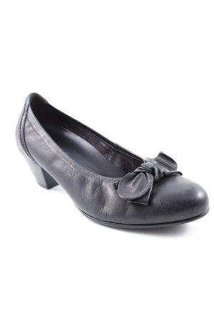Gabor Comfort Schlüpfschuhe schwarz klassischer Stil