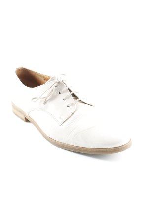 Gabor Comfort Schnürschuhe creme-beige Business-Look