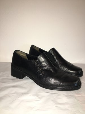 Gabor Comfort Schuhe Gr. 38 Gr. 5 schwarz Slipper
