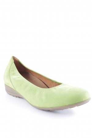 Gabor Comfort Slingback Ballerinas neon green extravagant style
