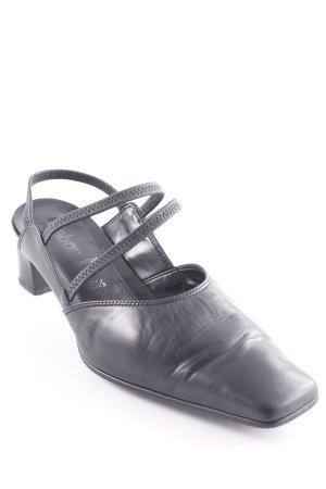 Gabor Comfort Slingback pumps zwart elegant