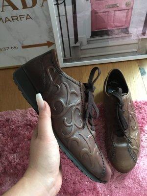 Gabor Comfort Sneaker Schnürschuhe Halb Braun