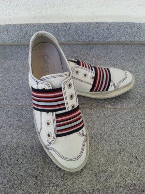 Gabor coole Echtleder Sneaker weiß Gr.38 top