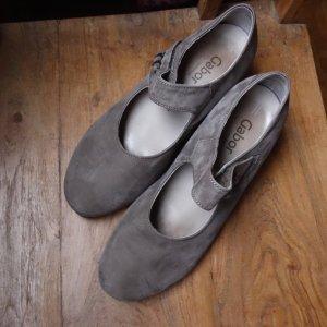 Gabor Comfort Escarpin à boucle gris brun daim