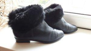 Gabor echt Leder Stiefel mit Fell innen und außen
