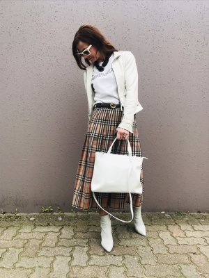 Gabor Business Bag white leather