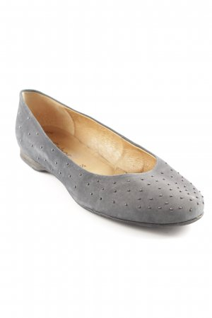 Gabor Foldable Ballet Flats light grey business style