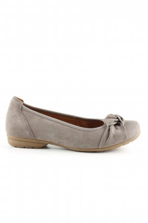 Gabor Foldable Ballet Flats light grey casual look