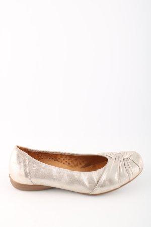 Gabor faltbare Ballerinas creme Casual-Look