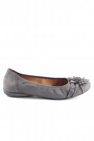 Gabor Ballerina pieghevole grigio chiaro stile casual