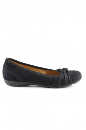 Gabor Foldable Ballet Flats black business style
