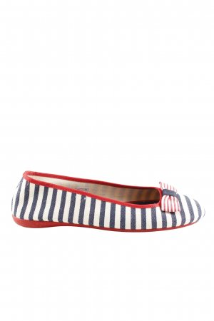 Gabor Foldable Ballet Flats striped pattern casual look