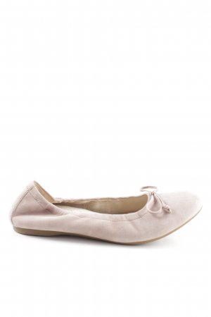 Gabor faltbare Ballerinas wollweiß Business-Look